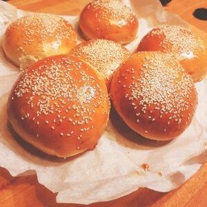 ψωμακια για burger