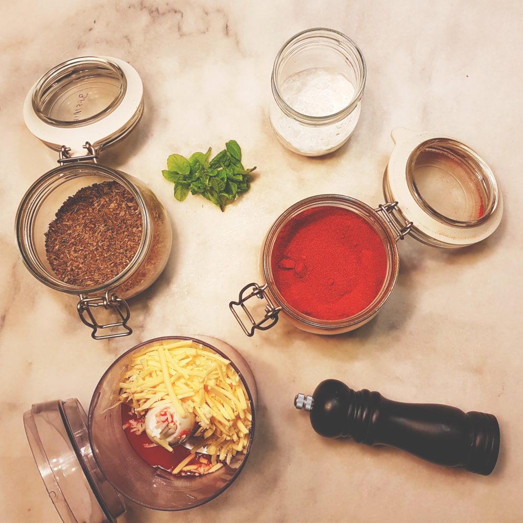 κριτσίνια Ιταλικα με τομάτα και τυρι φυτικο
