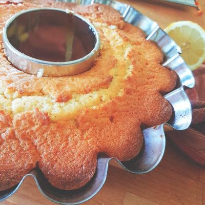 κέικ λεμόνι της τεμπέλας