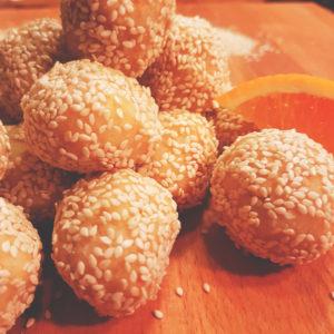 αυγδαλωτα πορτοκαλι