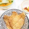 Γλώσσα ψάρι φιλέτο πανέ, στον φούρνο!
