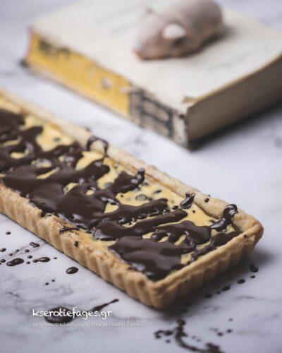 Τάρτα με Τυρί και Σοκολάτα